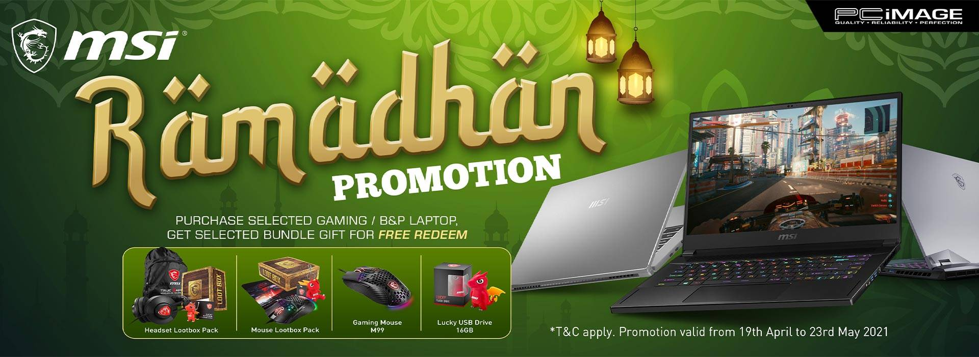 Msi Ramadhan Promo 23 May