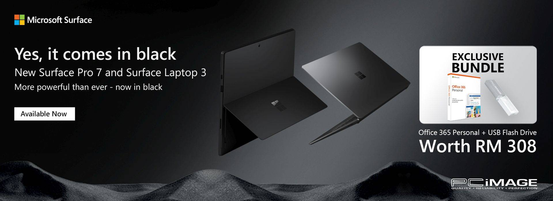 Surface Pro 7 & Laptop 3