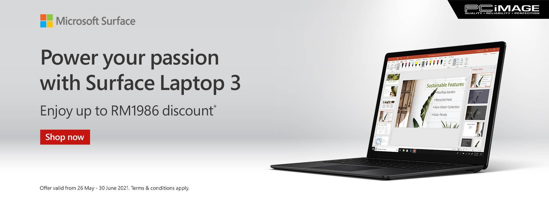 Surface Laptop 3 30 June