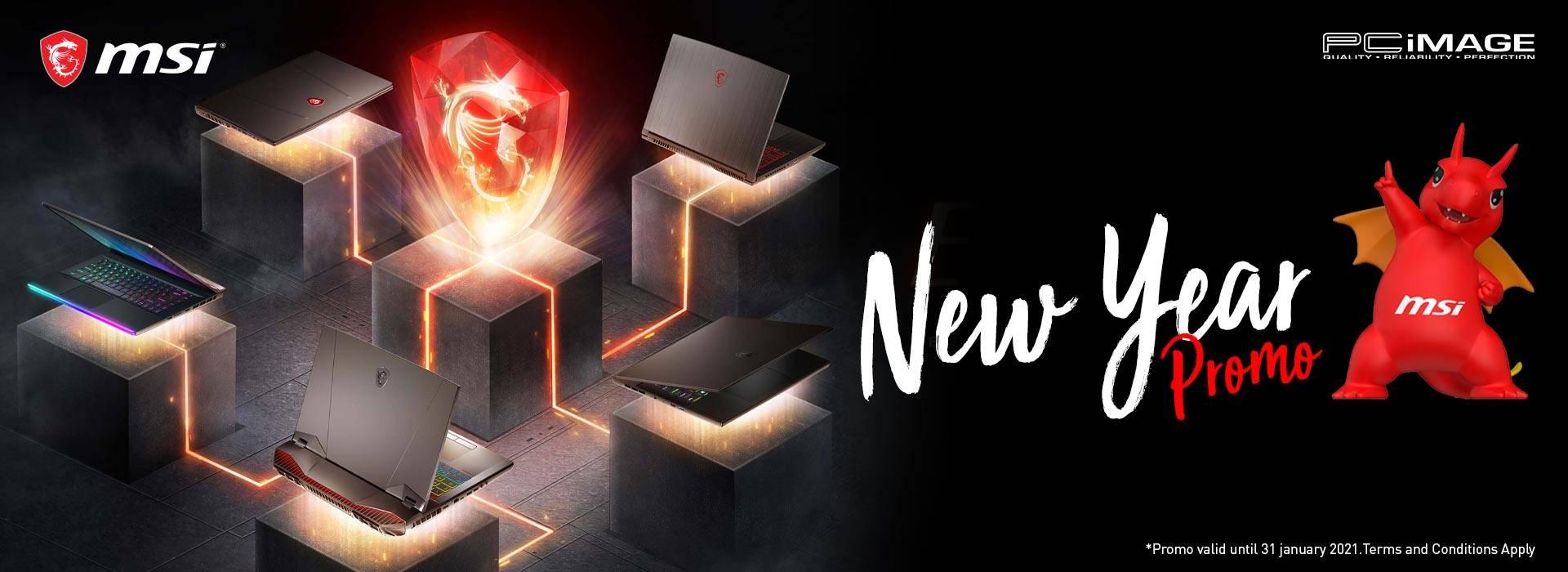 MSI New Year 2021 Promo