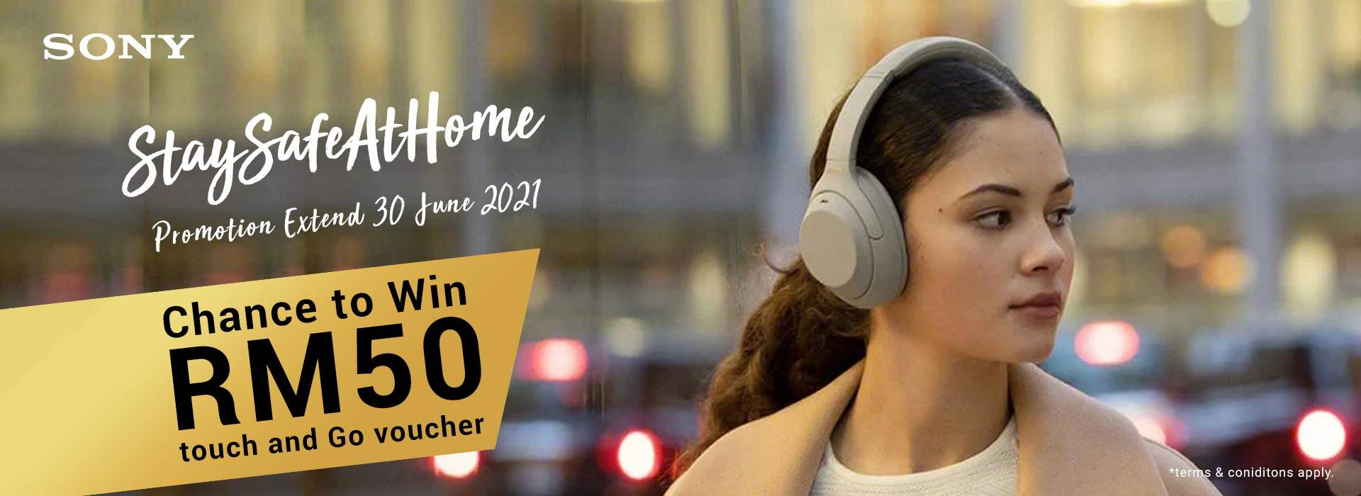 Sony Stay Safe at Home 30 June